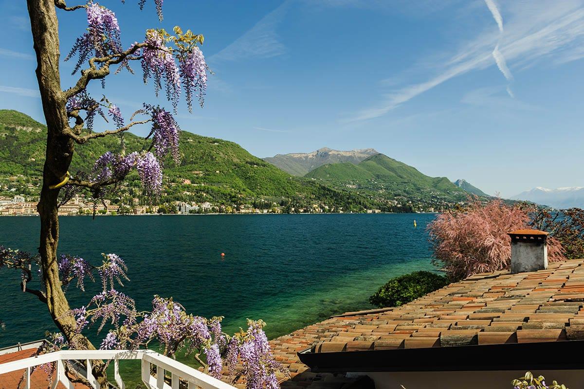 Camera superior vista lago panoramica hotel garden zorzi for Lago vista